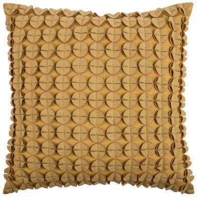 Rizzy Home Patrick Circlesdiscs Decorative Pillow