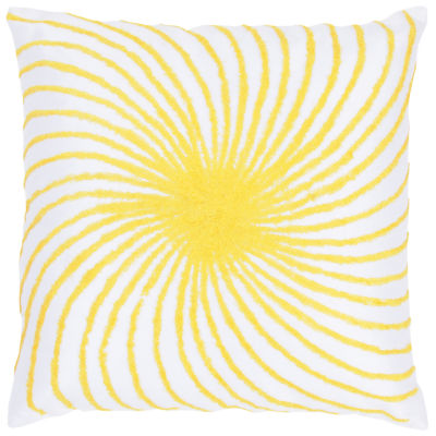 Rizzy Home Xavier Swirl From Center Decorative Pillow
