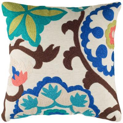 Rizzy Home Jaden Medallion Decorative Pillow