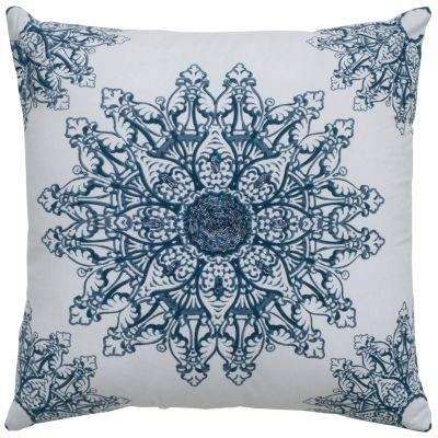 Rizzy Home Madison Medallion  Decorative Pillow