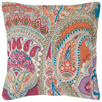 Rizzy Home Ava Floral Paisley Decorative Pillow