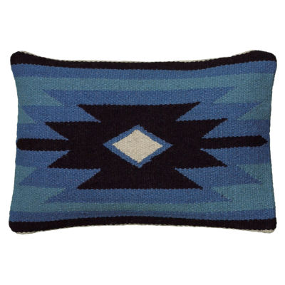 Rizzy Home Kaitlyn Colorful Geometric Southwestern Motifs Decorative Pillow