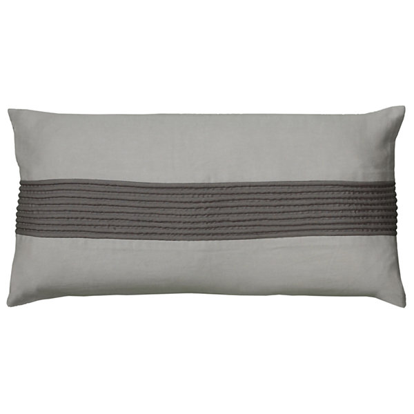 Rizzy Home Spencer Stripe Dimensional Decorative Pillow