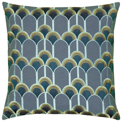 Rizzy Home Valeria Arches Or Scallops Decorative Pillow