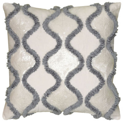 Rizzy Home Bella Ogee Decorative Pillow