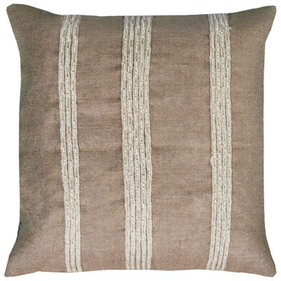Rizzy Home Lucy Stripes Decorative Pillow