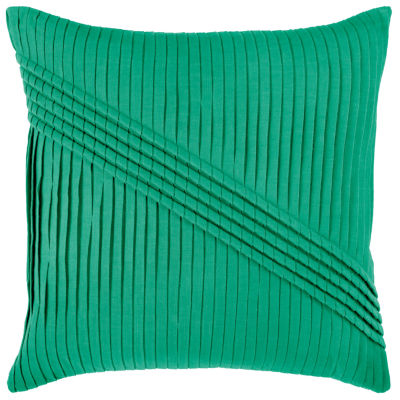 Rizzy Home Jada Solid Decorative Pillow