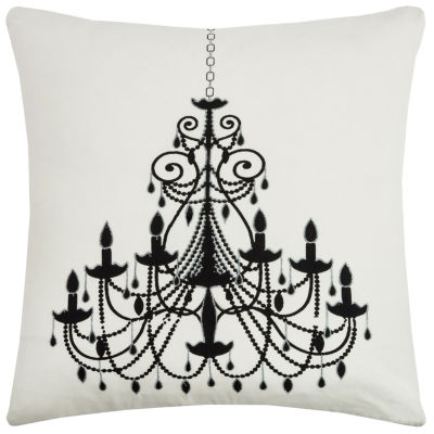 Rizzy Home Kate Chandelier Decorative Pillow