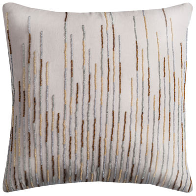 Rizzy Home Kendall Petals Floral Shape DecorativePillow
