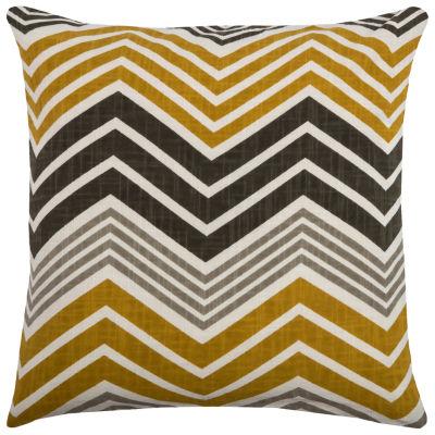 Rizzy Home Cadence Chevron Decorative Pillow