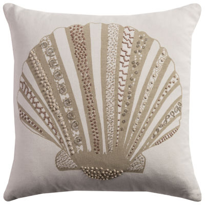 Rizzy Home Luke Shell Decorative Pillow