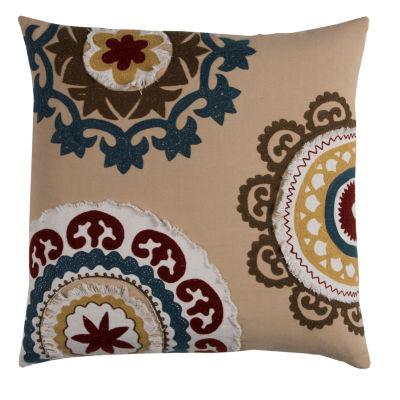 Rizzy Home Yasmine Medallion Decorative Pillow