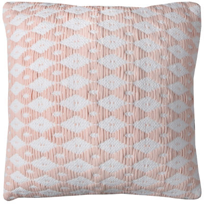 Rizzy Home Mohamed Diamond Pattern decorative Pillow