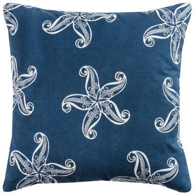 Rizzy Home Riley Starfish Decorative Pillow