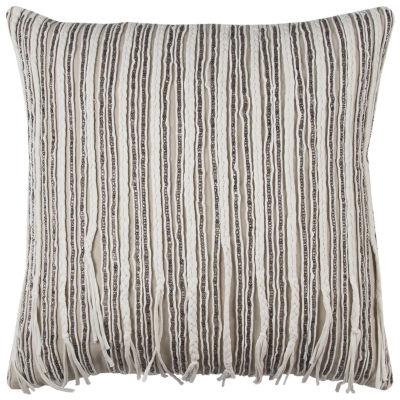 Rizzy Home Waldo Stripe Decorative Pillow
