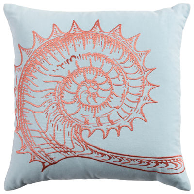 Rizzy Home Pamela Shell Decorative Pillow