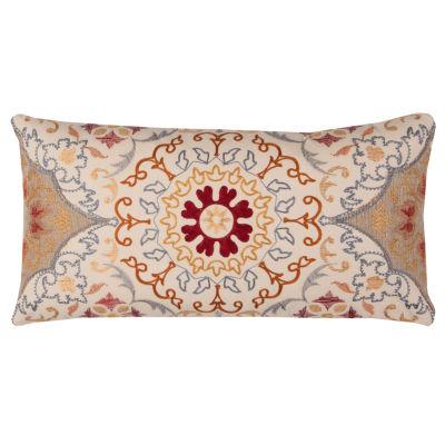 Rizzy Home Birch Medallion Decorative Pillow
