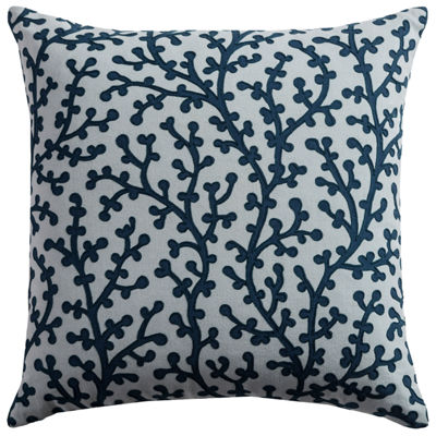 Rizzy Home Liam Coral  Decorative Pillow