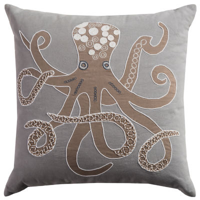 Rizzy Home Alexis Octopus Decorative Pillow