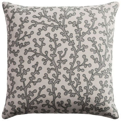Rizzy Home Sarah Coral Decorative Pillow