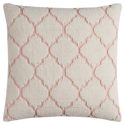 Rizzy Home Iona Hexagon Decorative Pillow