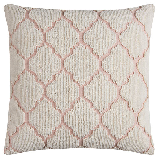 Rizzy Home Iona Hexagon Decorative Pillow