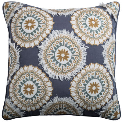 Rizzy Home Martina Medallion Decorative Pillow