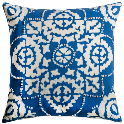 Rizzy Home Santiago Floral Decorative Pillow
