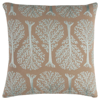 Rizzy Home Niobe Embroidered Shapes Decorative Pillow