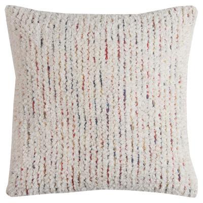 Rizzy Home Eleina Stripe Textured Decorative Pillow