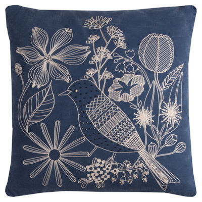 Rizzy Home Jubilee Floral Decorative Pillow