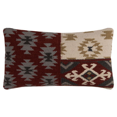 Rizzy Home Johana Southwestern Motifs Decorative Pillow