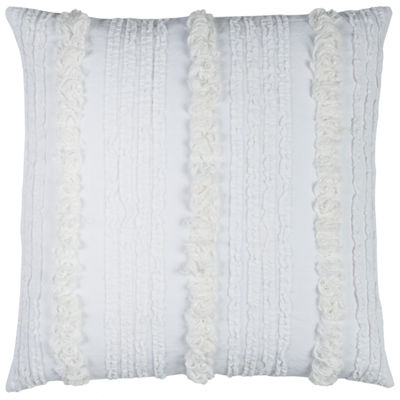 Rizzy Home Mia Vertical Deconstructed Stripe Decorative Pillow