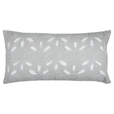 Rizzy Home Agatha Floral Decorative Pillow