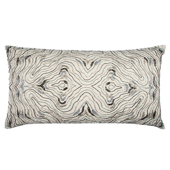 Rizzy Home Maxfield Abstract Swirl Decorative Pillow