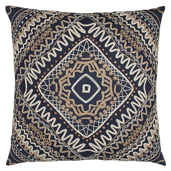 Rizzy Home Knox Tribal Decorative Pillow