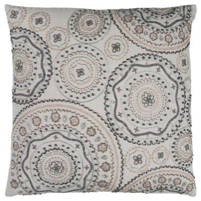 Rizzy Home Sheila Geometric Decorative Pillow