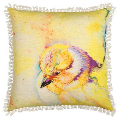 Rizzy Home Josefina Bird Decorative Pillow
