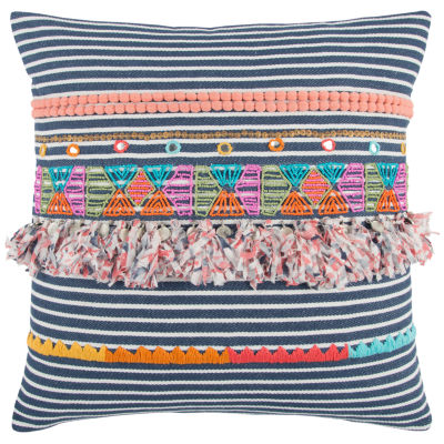 Rizzy Home Bertha Stripe Decorative Pillow