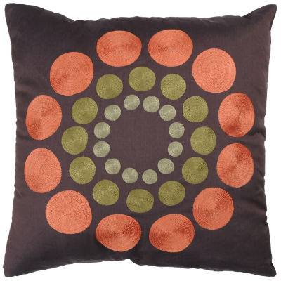 Rizzy Home Kathy Circles Decorative Pillow