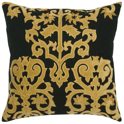 Rizzy Home Gloria Damask Decorative Pillow