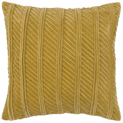 Rizzy Home Marty Raised Stripes Decorative Pillow