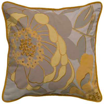 Rizzy Home Dianna Floral Decorative Pillow