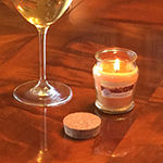 Scented Candles- Wine Collection 3oz Glass Jars (Set of 6)