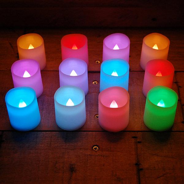 12 Rgb Votive 12-pc. Flameless Candle