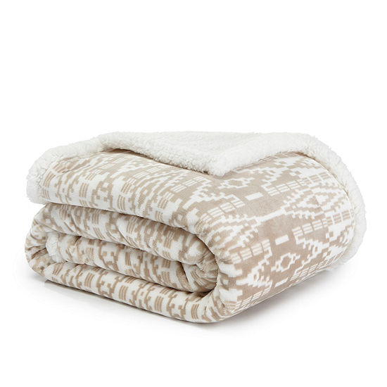 Eddie Bauer San Juan Beige 50X60 Throw