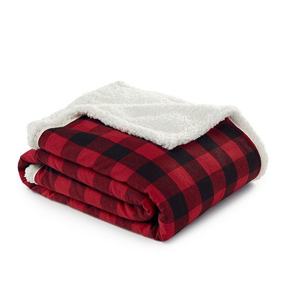 Eddie Bauer Cabin Plaid 50X60 Throw