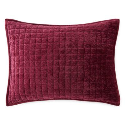 Liz Claiborne Pure Velvet Pillow Sham