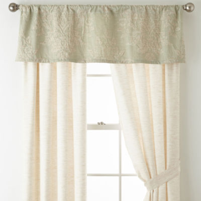 Royal Velvet Cassata Rod-Pocket Curtain Panel