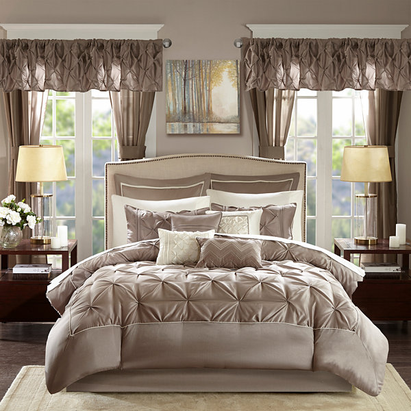 Madison Park Essentials Loretta 24-pc. Comforter Set